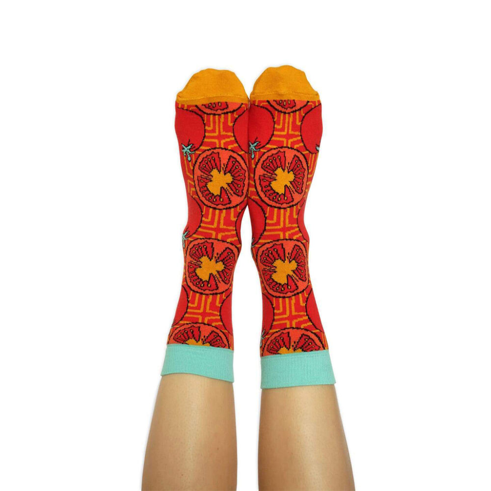 chaussettes tomate 5