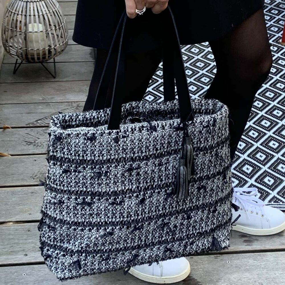 sac tissus mode parisienne Made in france